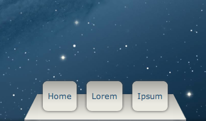 Apple Mountain Lion Dock in CSS