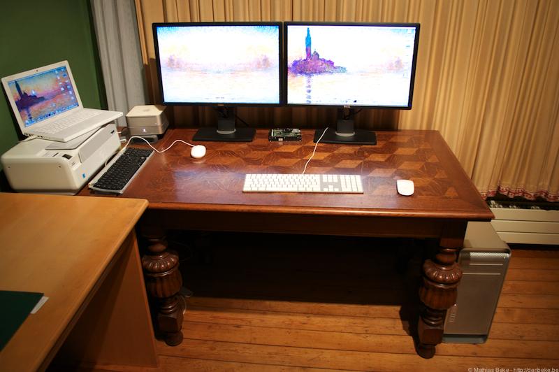 denbeke bureau mac pro. Black Bedroom Furniture Sets. Home Design Ideas