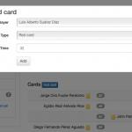 Admin edit match (kaarten toevoegen)