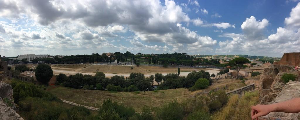 Circus Maximus gezien vanop Palatijn