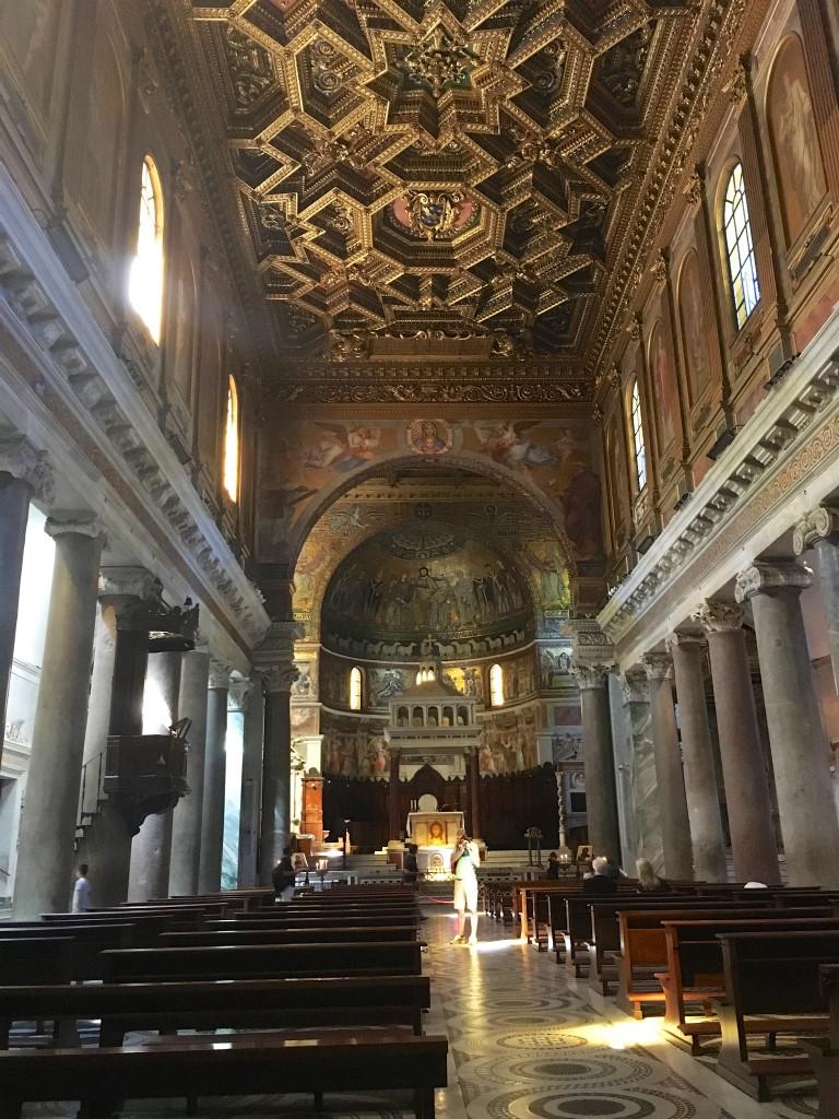 Basiliek van Santa Maria in Trastevere