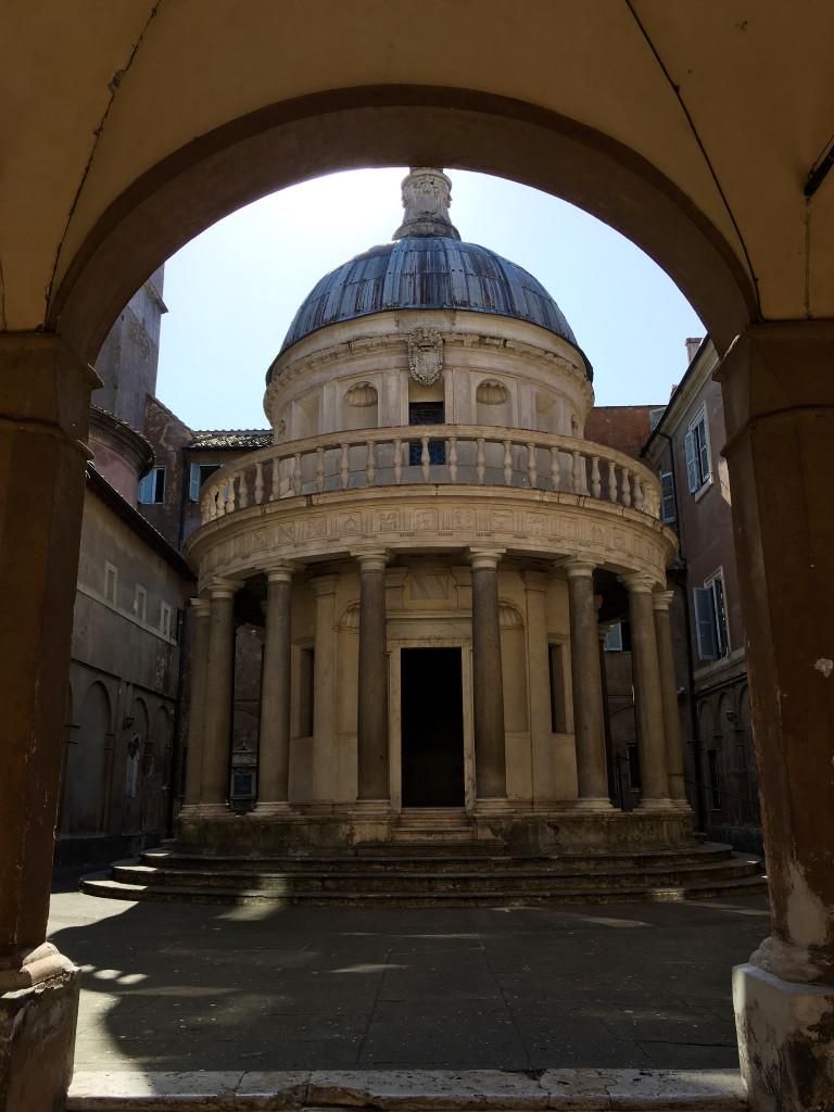 Tempietto van San Pietro in Montorio op Janiculum
